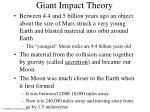 giant impact theory
