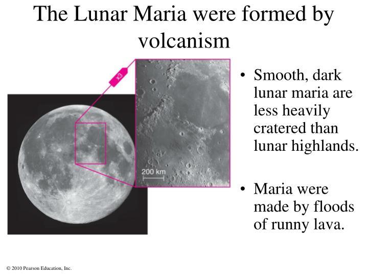 The Lunar Maria
