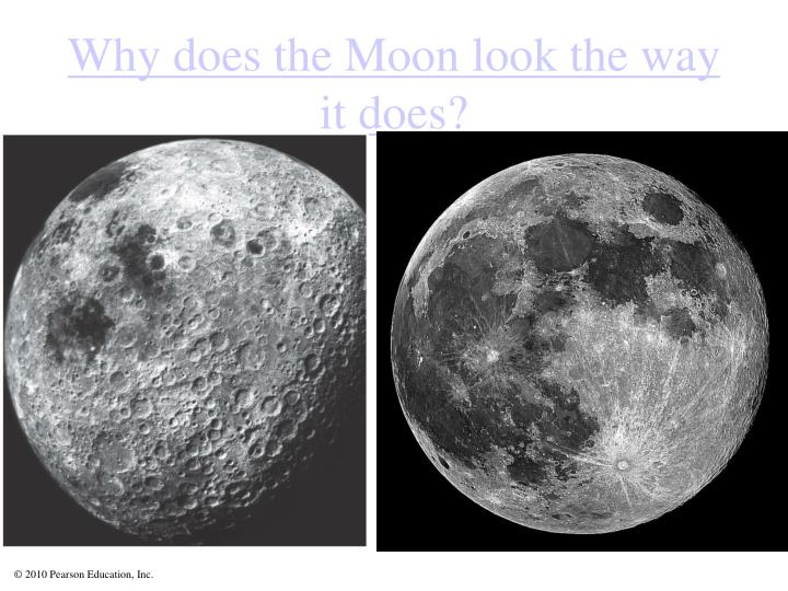 Why does the Moon look the way it does?