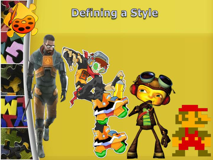 Defining a Style