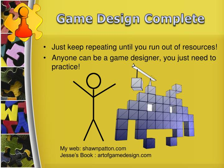 Game Design Complete