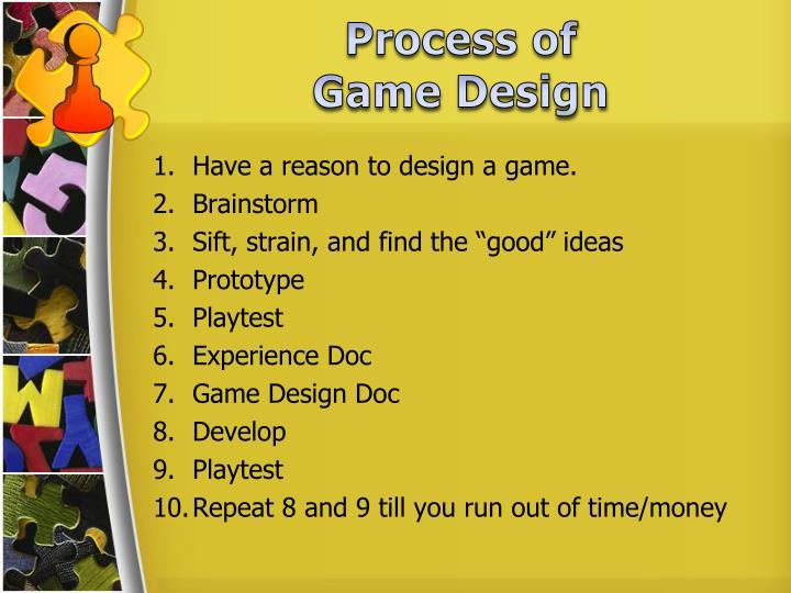 Process of