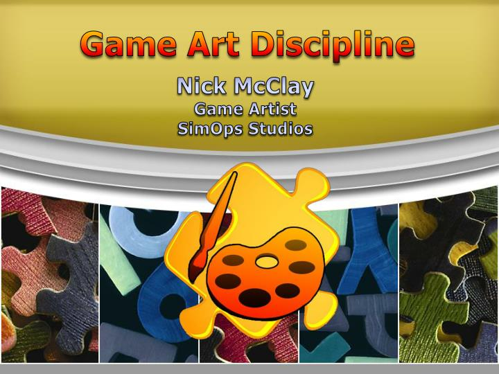Game Art Discipline
