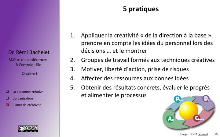 5 pratiques