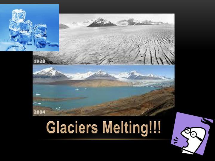 Glaciers Melting!!!