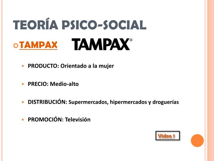 TEORÍA PSICO-SOCIAL