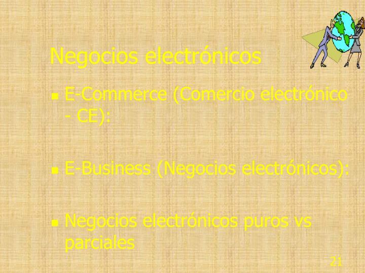 Negocios electrónicos