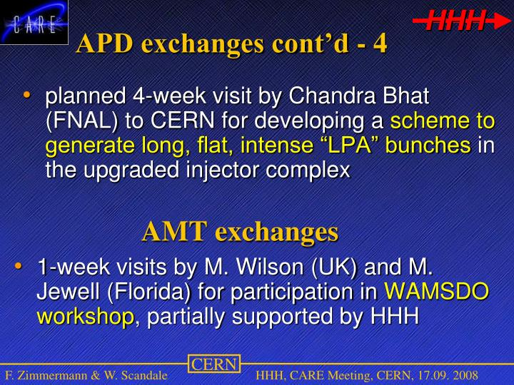 AMT exchanges