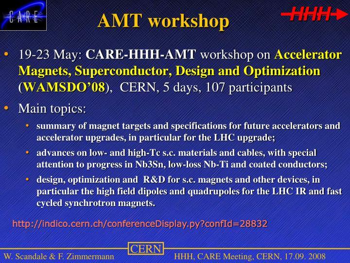 AMT workshop