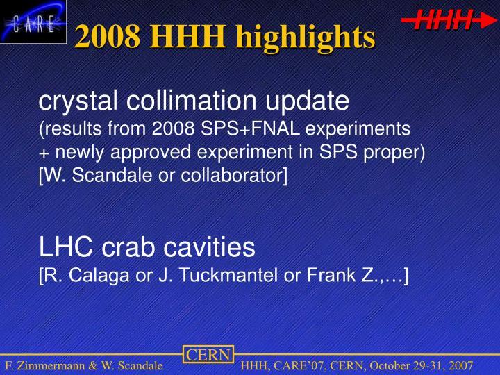 2008 HHH highlights