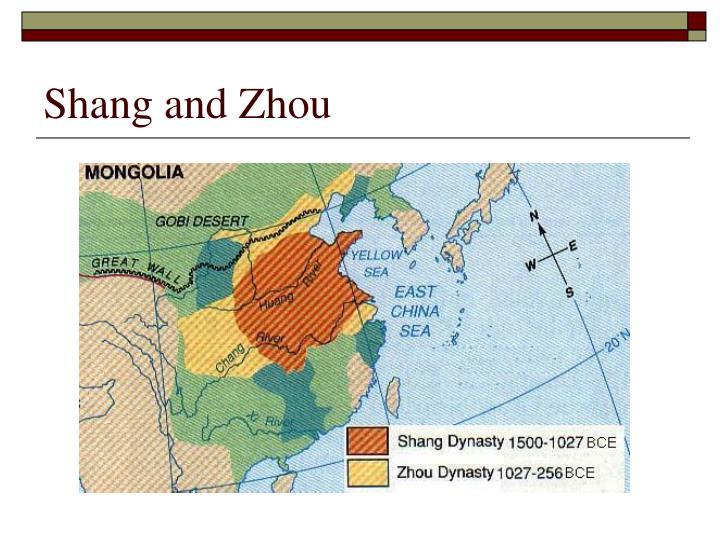Shang and Zhou