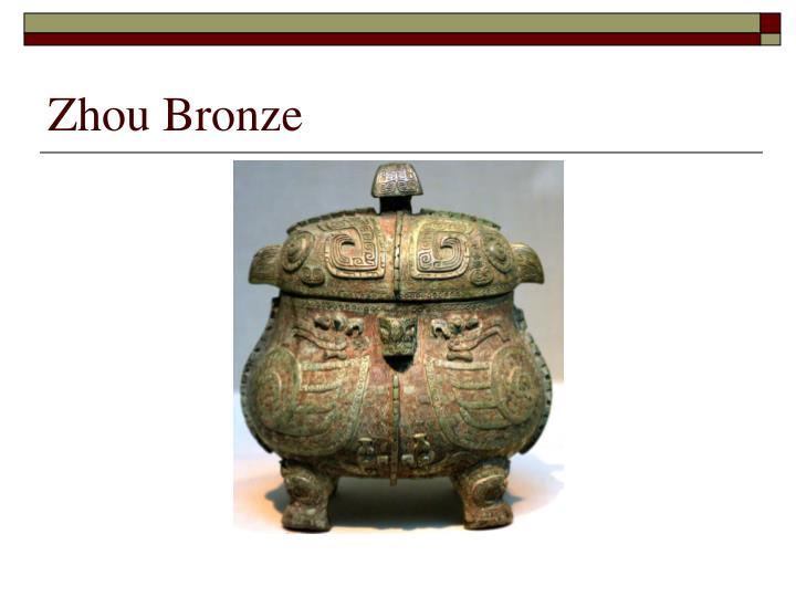 Zhou Bronze