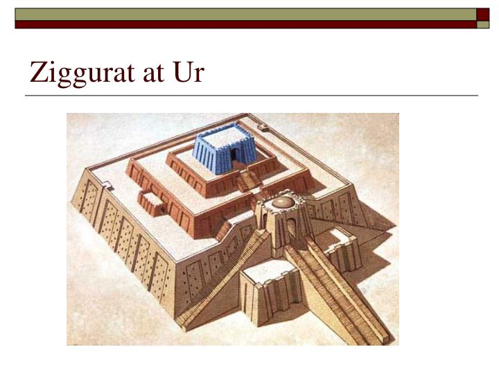 Ziggurat at Ur
