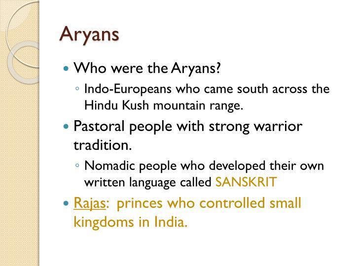 Aryans