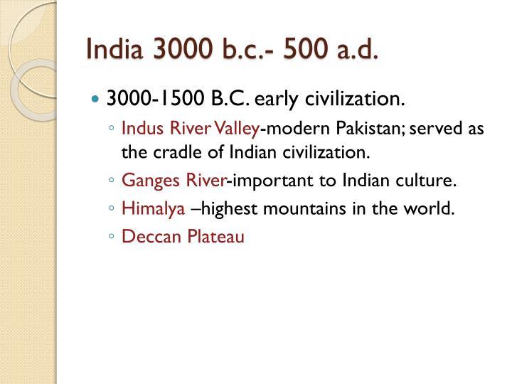 India 3000