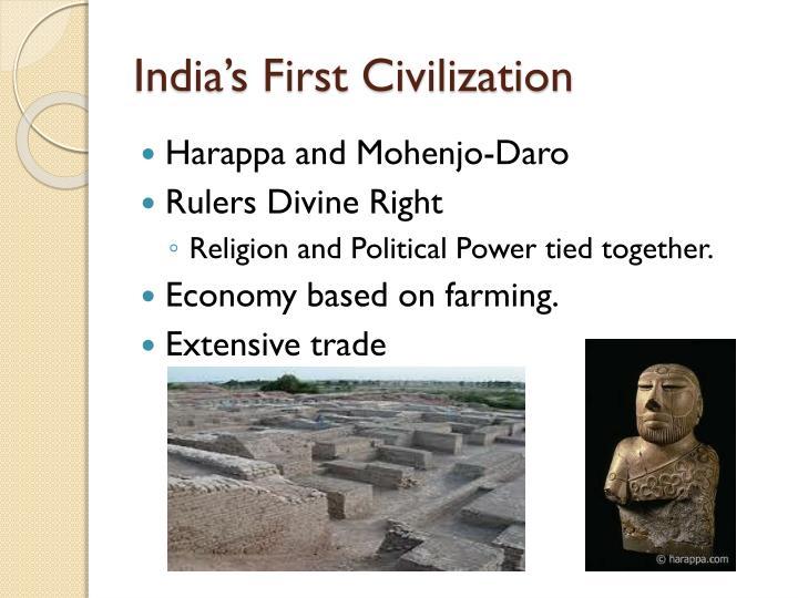 India's First Civilization