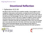 devotional reflection