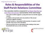 roles responsibilities of the staff parish relations committee3