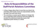 roles responsibilities of the staff parish relations committee5