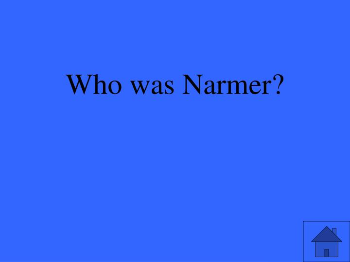 Who was