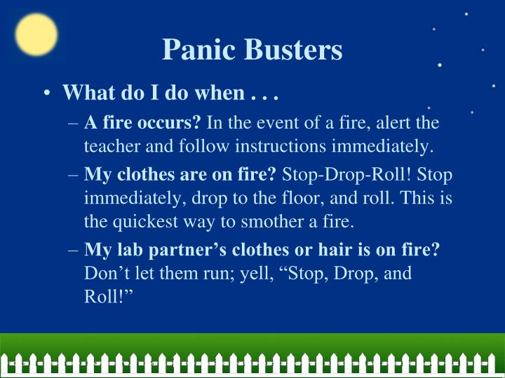 Panic Busters