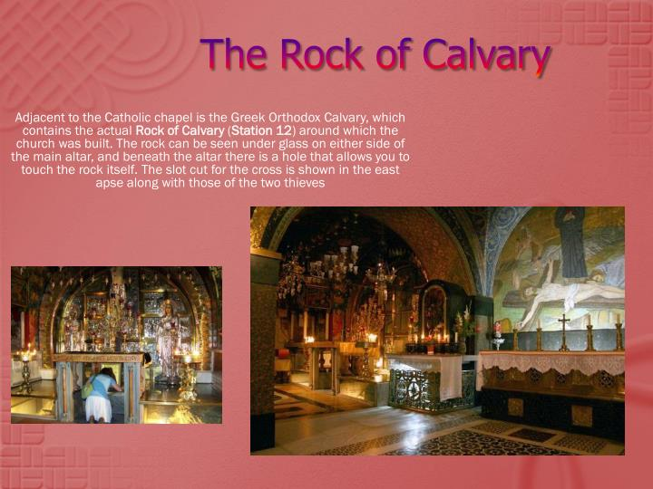 The Rock of Calvary