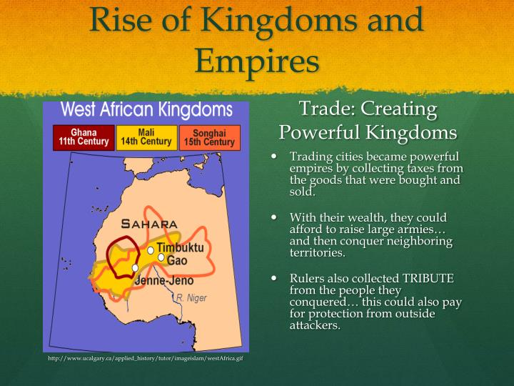 Rise of Kingdoms and Empires