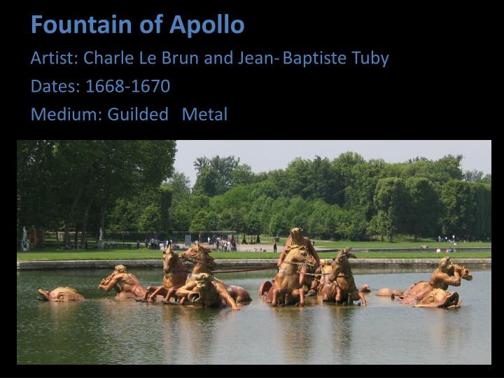 Fountain of Apollo