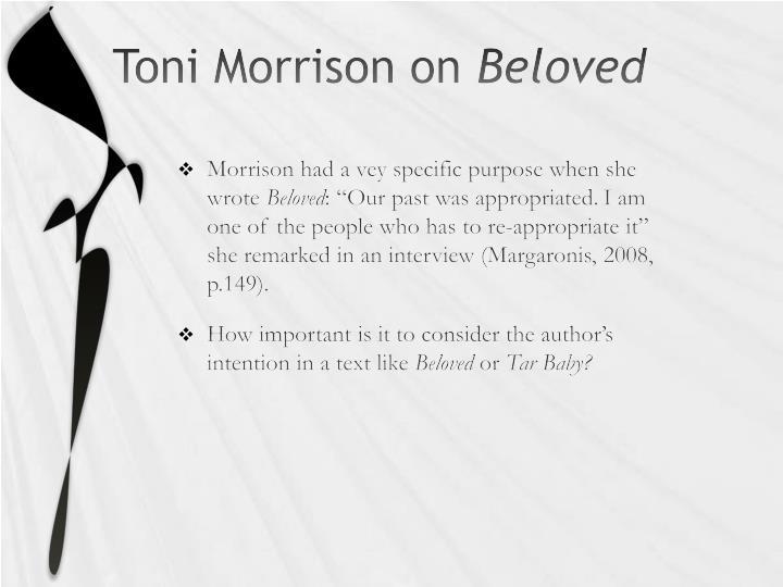 Toni Morrison on
