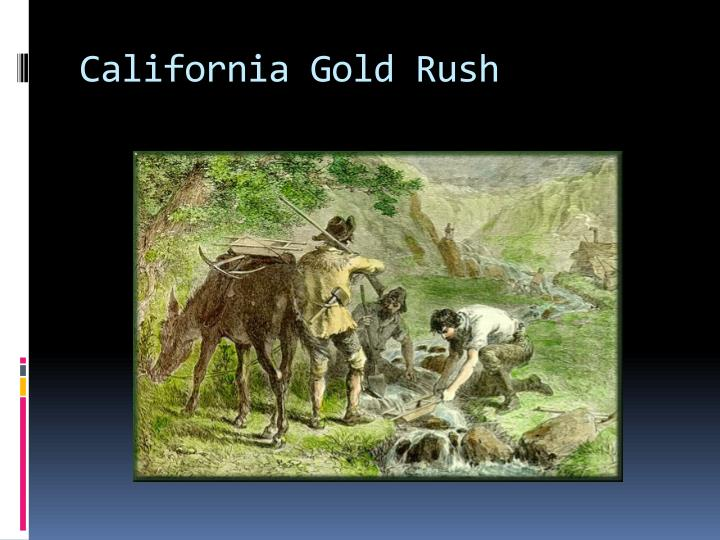 the impact of california gold rush on the native americans Friends are even buying pickaxes and other mining equipment they urge   gold is discovered in california effects • native americans are forced off lands.