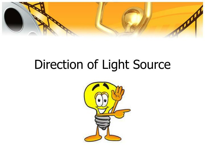 Direction of Light Source