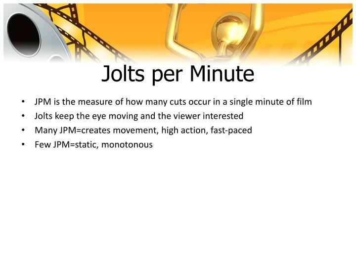 Jolts per Minute