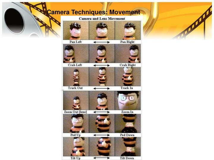Camera Techniques: Movement