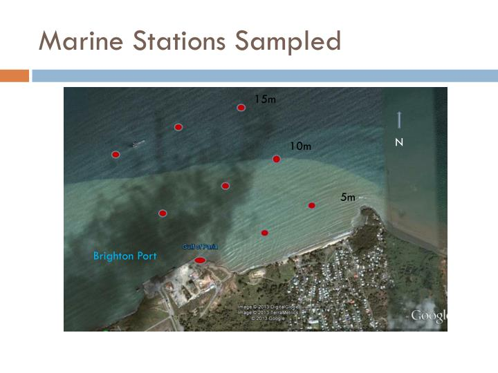 Marine Stations Sampled