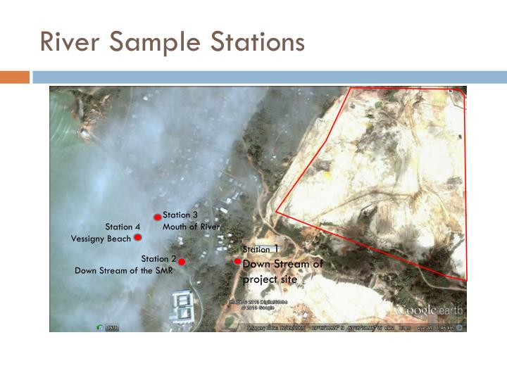 River Sample Stations