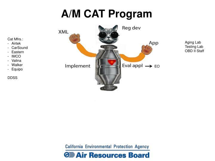 A/M CAT Program