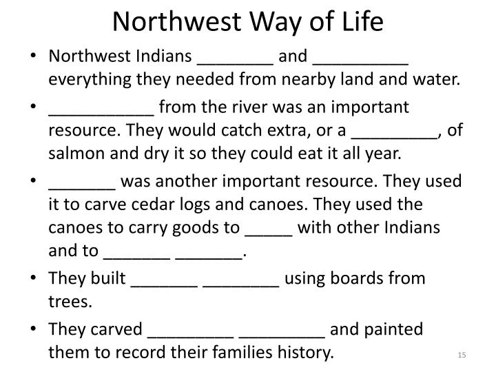 Northwest Way of Life