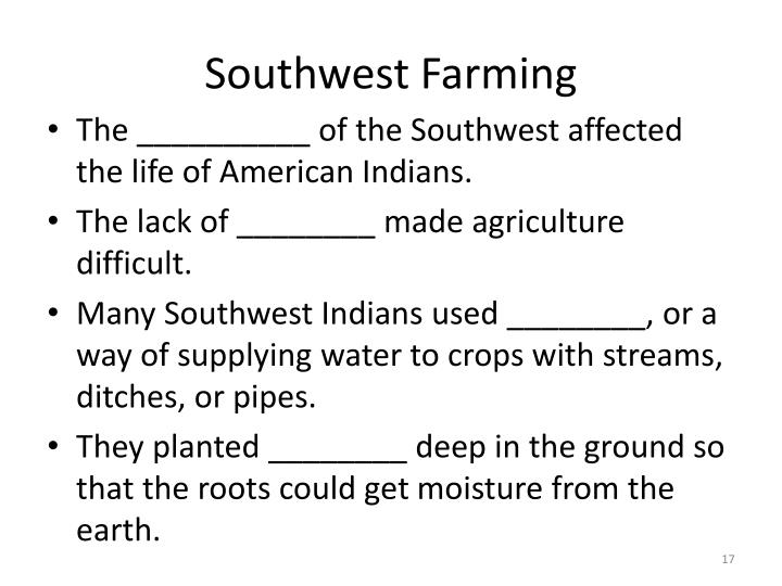 Southwest Farming