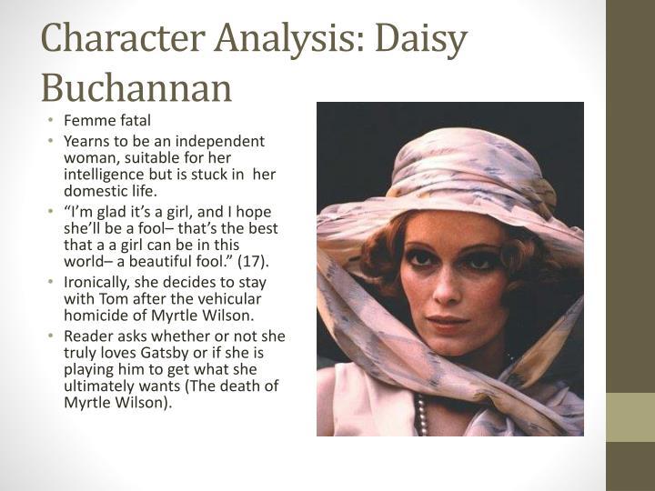 Character Analysis: Daisy Buchannan