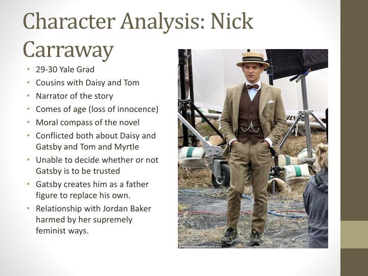 Character Analysis: Nick Carraway