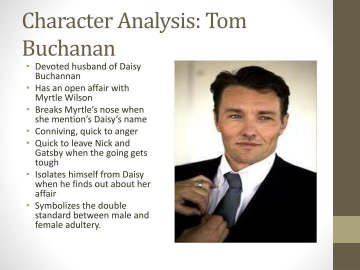 Character Analysis: Tom Buchanan