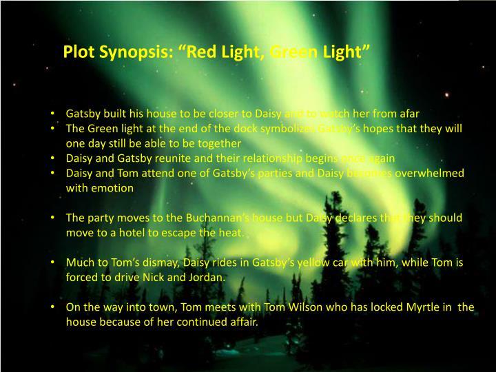 "Plot Synopsis: ""Red Light, Green Light"""