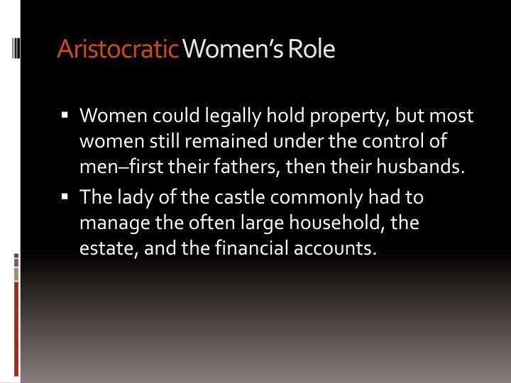 Aristocratic