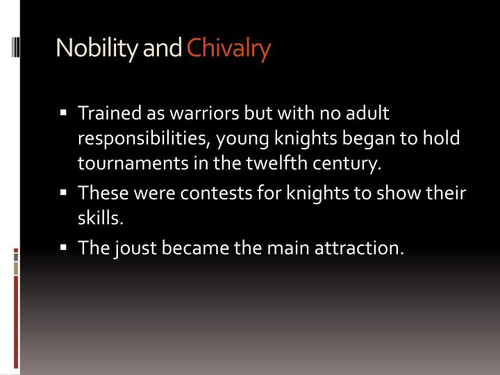 Nobility and