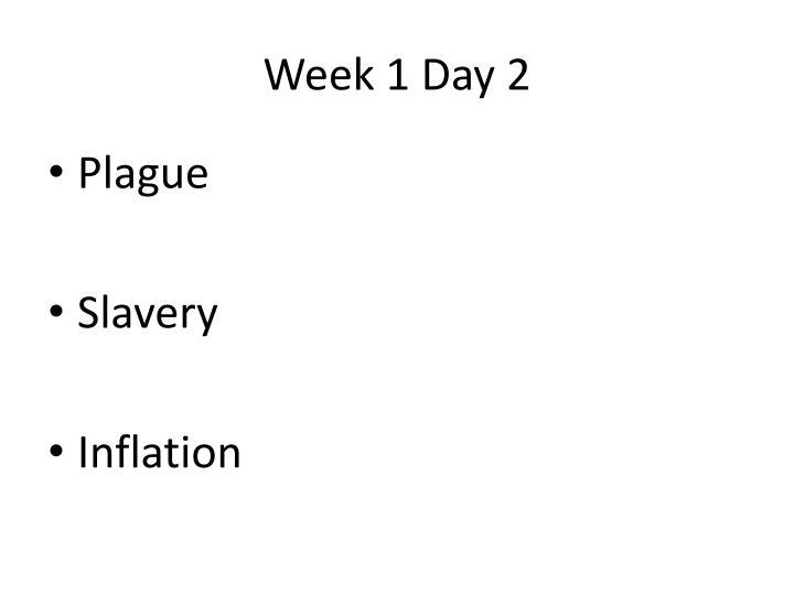 Week 1 Day 2
