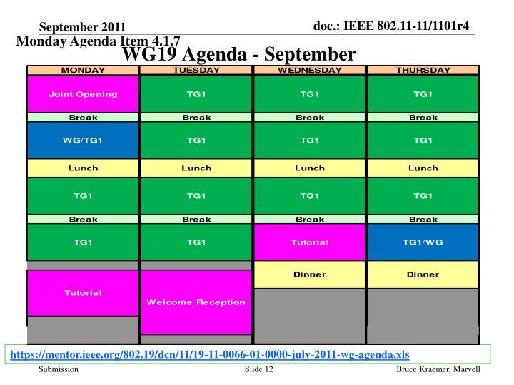 Monday Agenda Item 4.1.7