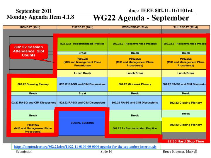 Monday Agenda Item 4.1.8