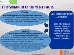 physician recruitment facts