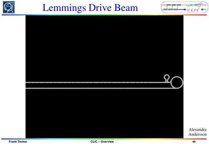 Lemmings Drive Beam