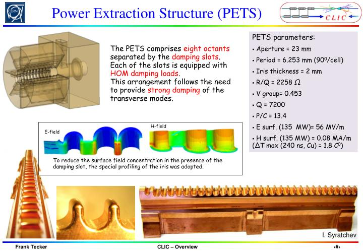 Power Extraction Structure (PETS)
